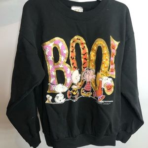 Vintage Peanuts Halloween Sweater
